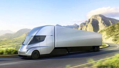 elektrische vrachtwagen tesla semi